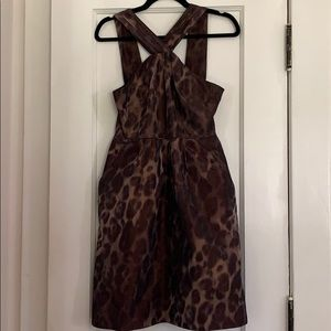Banana Republic cheetah dress